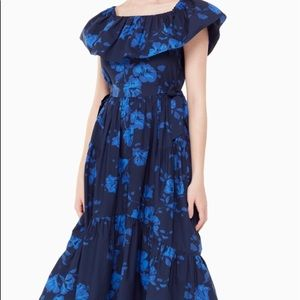 Kate Spade Hibiscus Print Dress